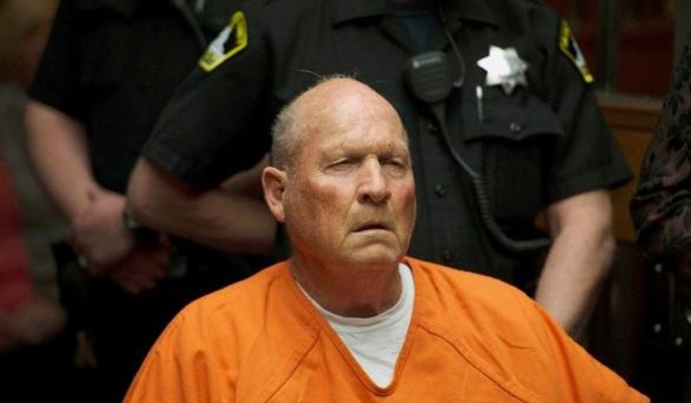 Golden State Killer charged with four more murders