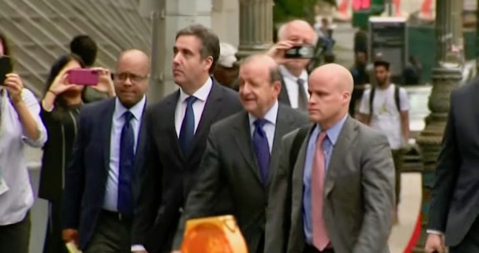Michael Cohen now popular in New York as friends and strangers encourage him to become 'hero' that saves America from Trump: report
