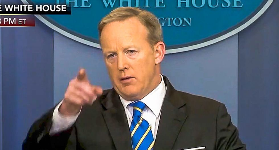 Sean Spicer: 'There's frankly no need for a special prosecutor' after Comey firing