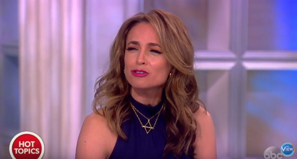 'It's scary on another level': Conservative on The View stunned by how 'stupid' Trump can be