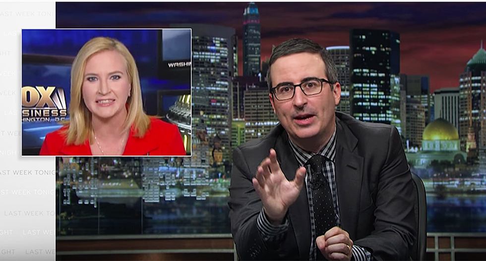 John Oliver hits back when Fox News attacks his net neutrality campaign