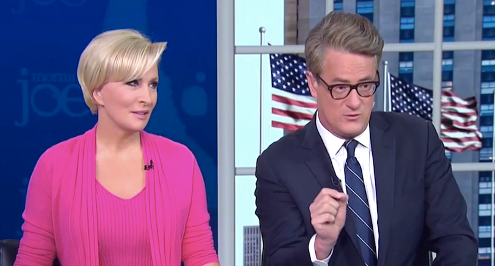 Morning Joe says FBI close to exposing the president: 'It's a criminal issue -- and Trump knows that'