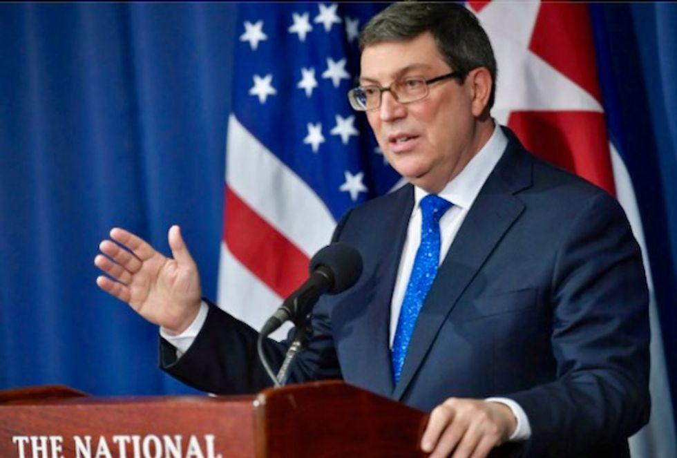 Cuba denies stoking Latin American social unrest