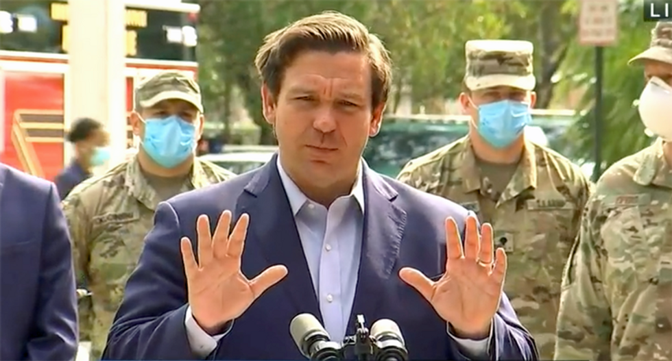 Ron DeSantis warned of COVID exposure after attending Florida sheriffs meeting where 5 tested positive: report