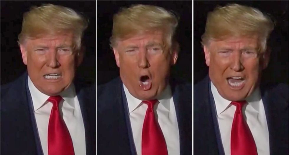 Trump suffered a late night meltdown on the eve of impeachment vote