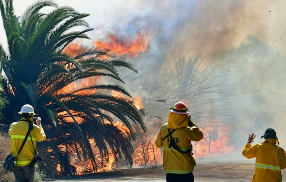 'Not on my list': Private California firms fight fires, raise concerns