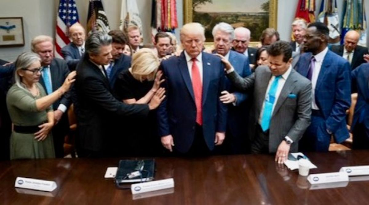 Evangelical nationalists see the world in 'cataclysmic terms' -- and have an 'authoritarian streak': Trump DHS official