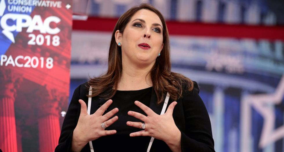 Twitter buries GOP 'scumbag liar' Ronna McDaniel for claiming '82% of Americans' make over $400,000/year