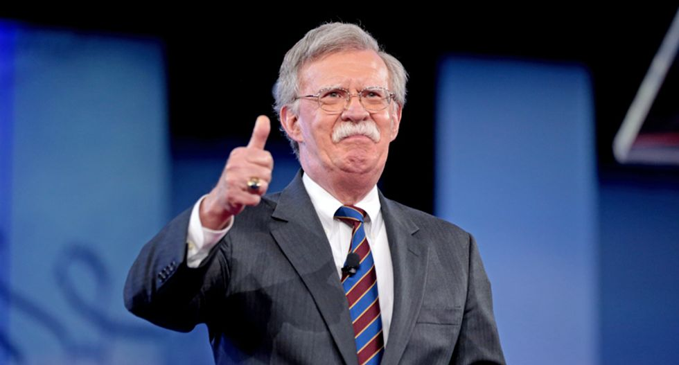 Former Trump adviser Bolton urges president to  launch 'pre-emptive strike' on Iran