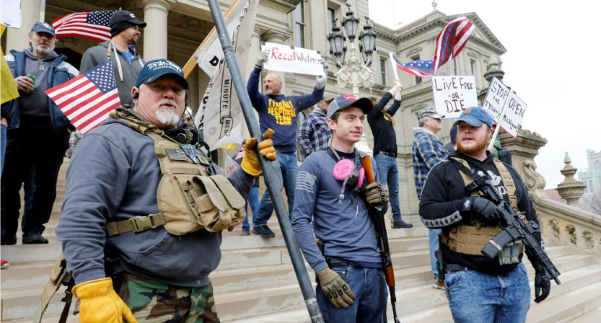 Michigan GOP leader met with militia goons -- including two allegedly involved in Whitmer kidnapping plot