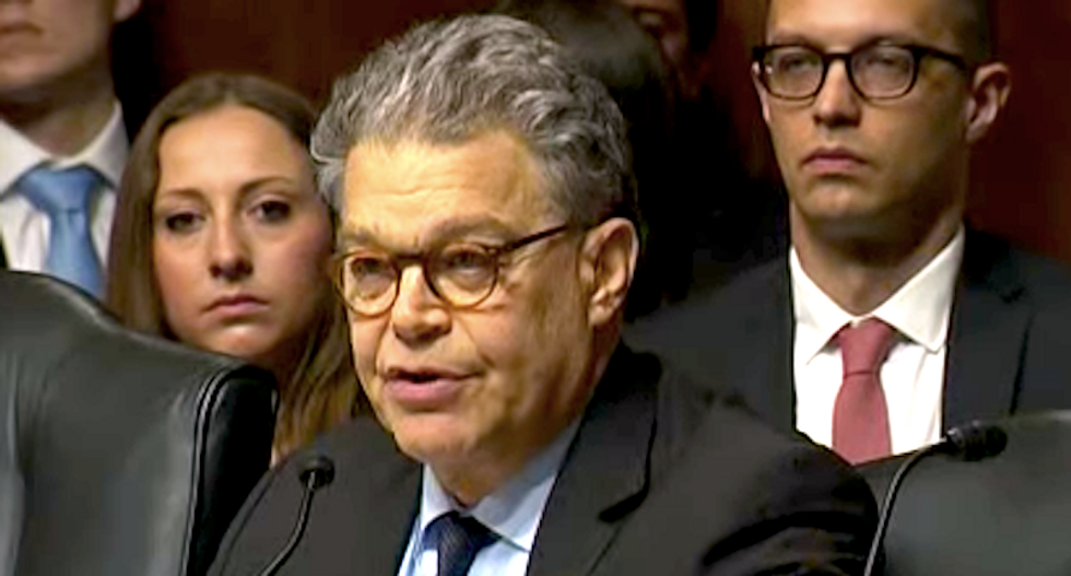 Al Franken presses Comey to investigate Trump's taxes to see depth of Russia connections