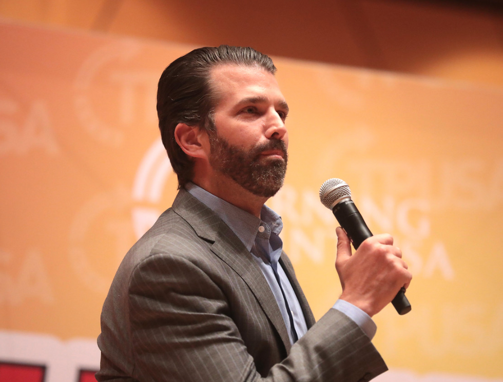 Trump Jr whines 'entire media is triggered' as he faces backlash for outing the alleged whistleblower