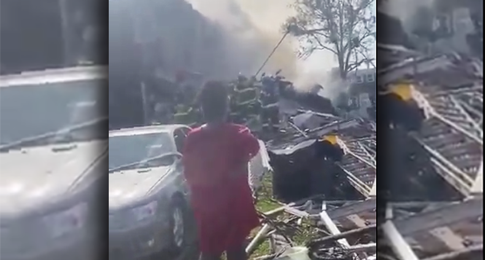 'Mass casualties' feared after huge explosion in Baltimore demolishes several houses