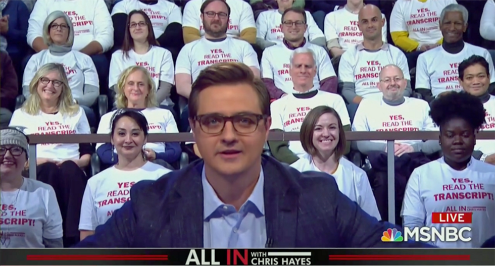 Trump actually is 'dumb enough' to confess his crimes: Chris Hayes says Americans should 'read the transcript'