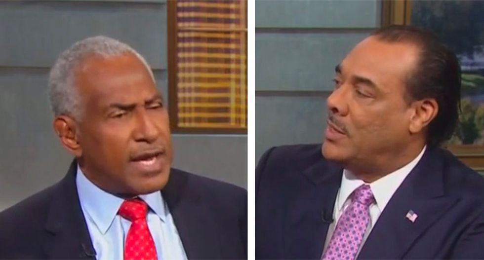 WATCH: Trump defender snaps after NAACP president schools him on president's lifelong racism