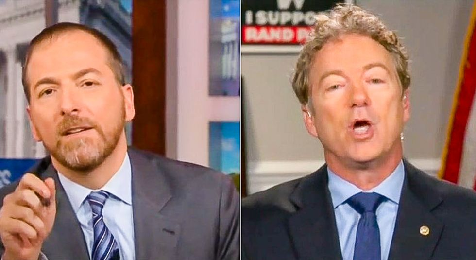 Rand Paul becomes latest GOPer to admit quid pro quo: Trump had 'every right' to extort Ukraine