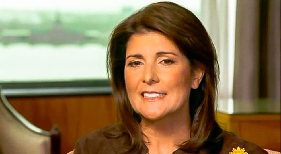 Nikki Haley blasted with scorn for whining her popcorn shipment was delayed: 'Talk to Trump's Postmaster General'