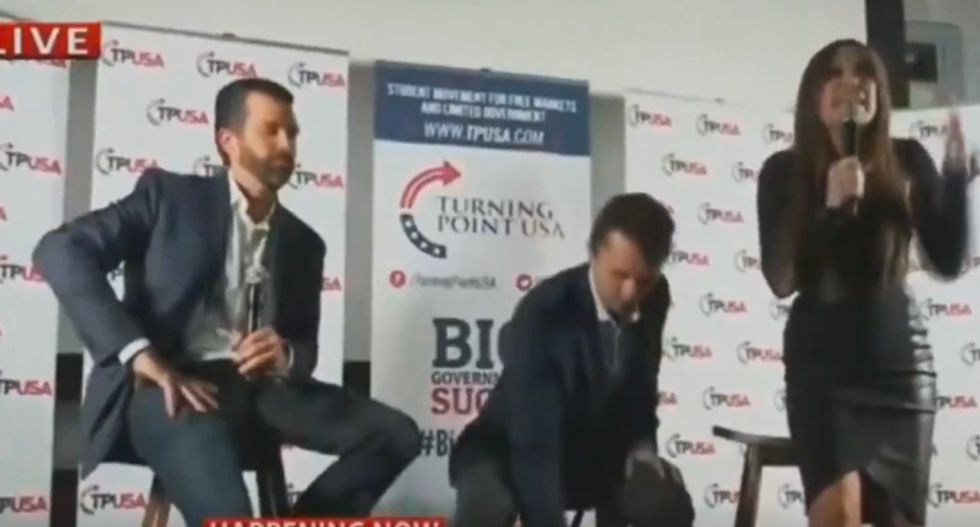 WATCH: Donald Trump Jr. booed off stage at UCLA book event
