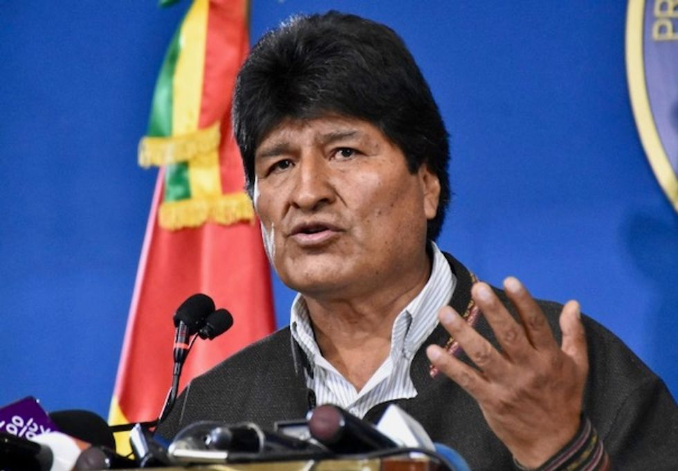 Bolivia's Morales given two days to save Senate candidacy bid