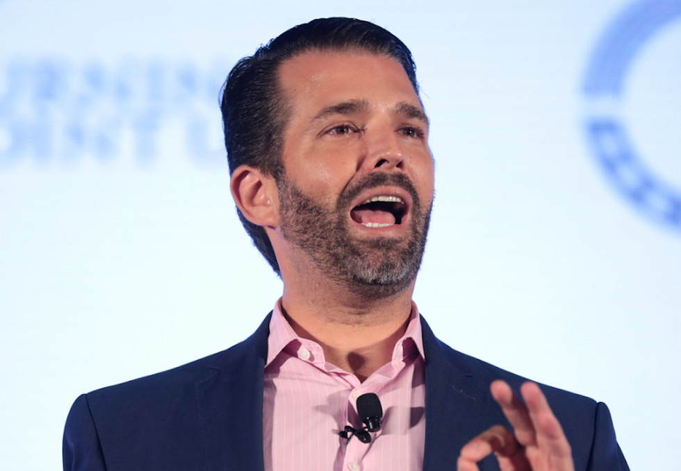 Veteran slams Donald Trump Jr for comparing his family's 'sacrifice' to those buried in Arlington National Cemetery