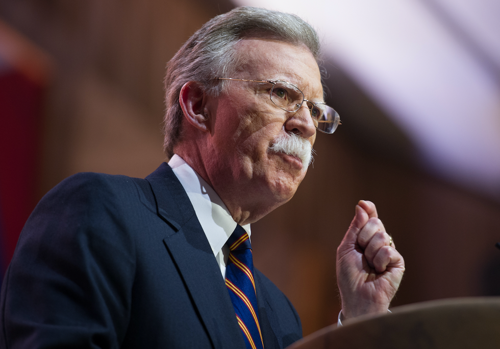 John Bolton trashes Trump in private speech -- and hints his Syria pullout was based on financial interests: report