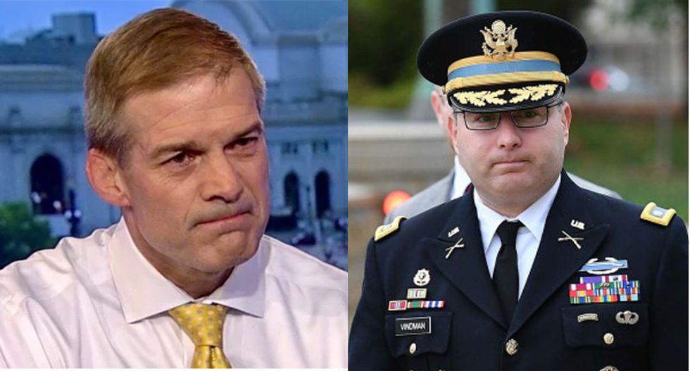 GOP hopes 'idiot' Jim Jordan will smear Lt. Col. Vindman in order to save Trump: report