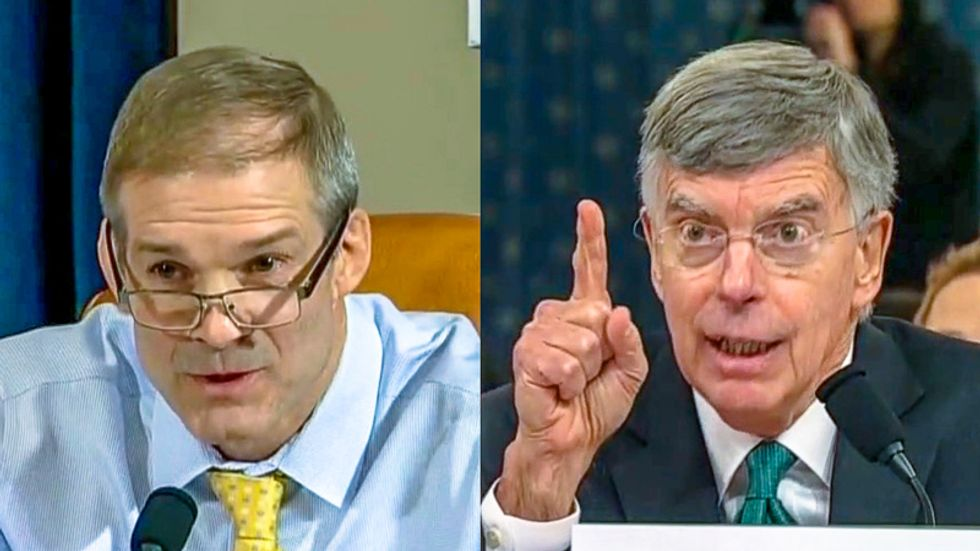 Bill Taylor fires back at Jim Jordan: 'I don't consider myself a star witness for anything'