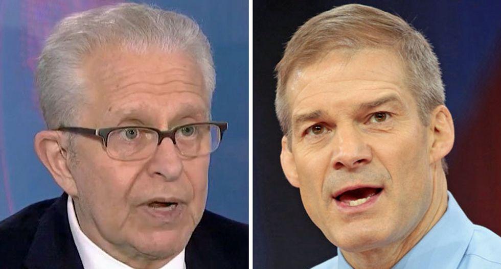 Constitutional law expert Laurence Tribe succinctly debunks Jim Jordan's defense of Trump