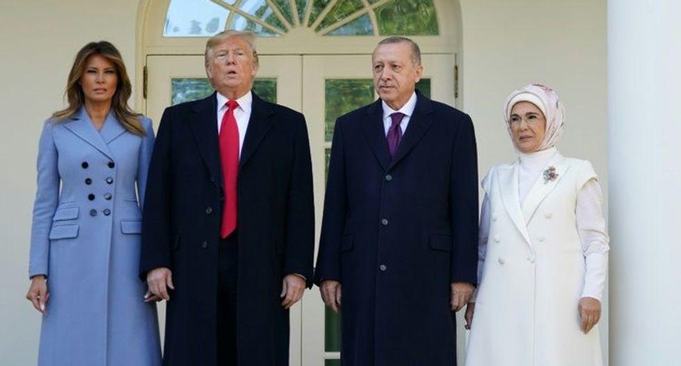 Trump ignores impeachment to host Turkey's Erdogan at the White House