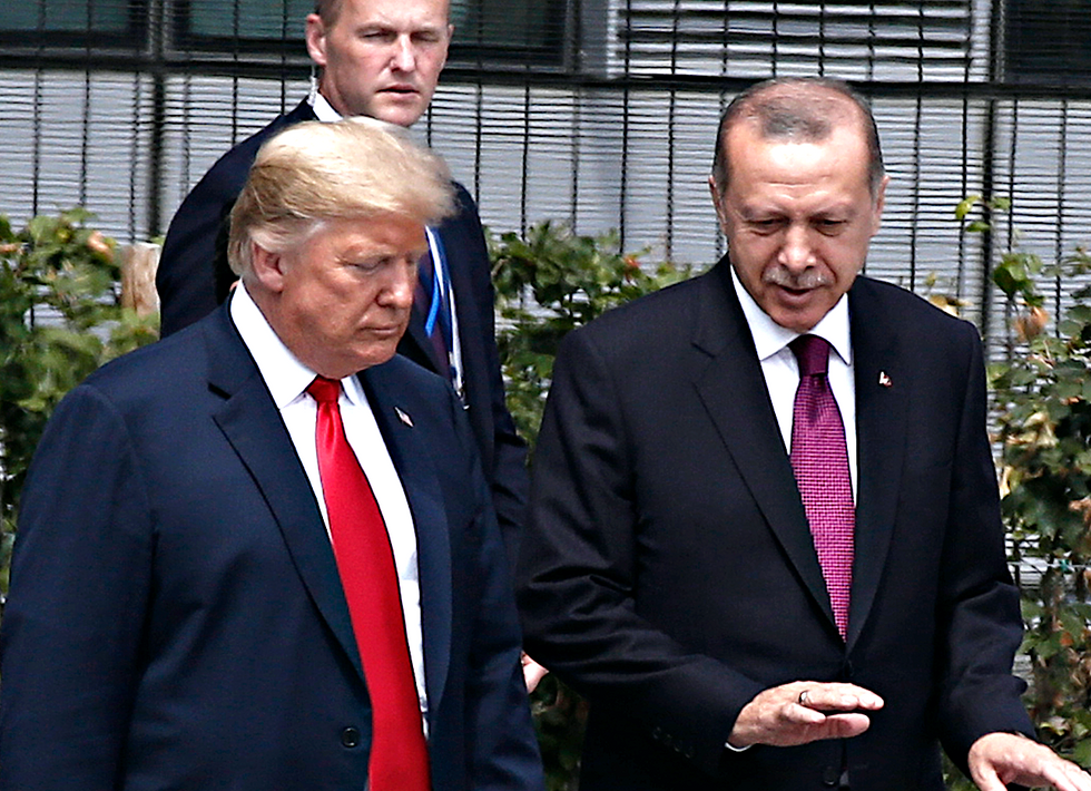 Turkish forces launch attacks on Syrian Christian communities as Trump welcomes Erdogan to the White House