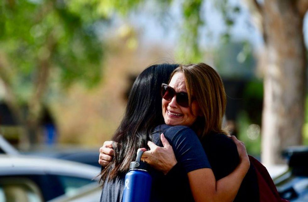 Two killed in California school shooting, teen in custody