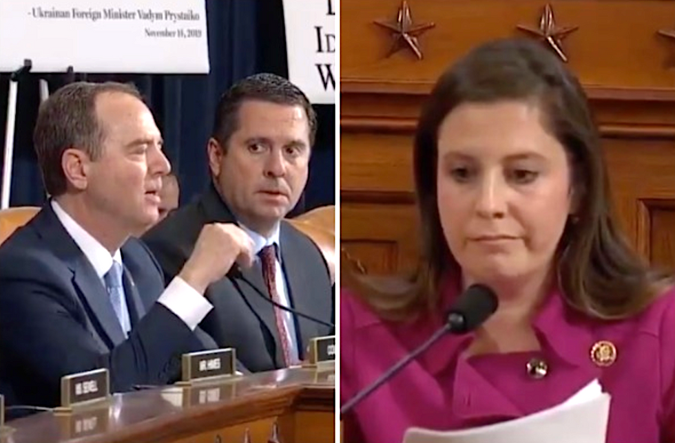 GOP lawmaker mocked after whining Adam Schiff wouldn't let her break impeachment hearing rules