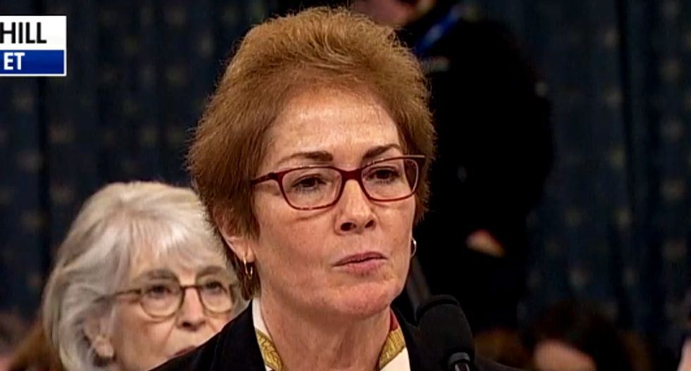 Marie Yovanovitch calls out Trump allies' 'storm of lies and conspiracies' in scathing op-ed