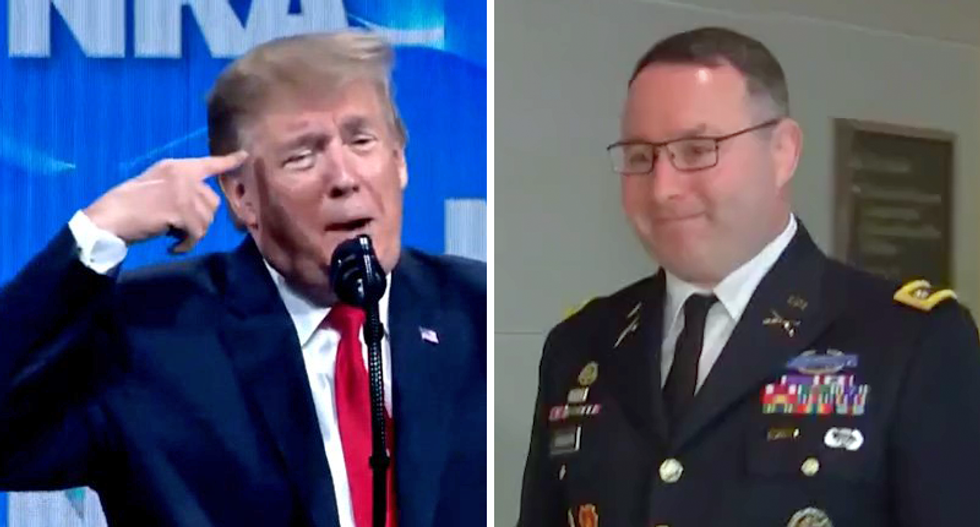 BUSTED: Trump's White House sent out anti-Vindman talking points — trashing their own staffer