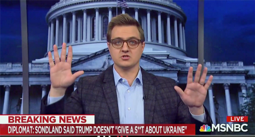 Chris Hayes breaks down the 'busy day in the criminal chronicles of one President Donald J. Trump'