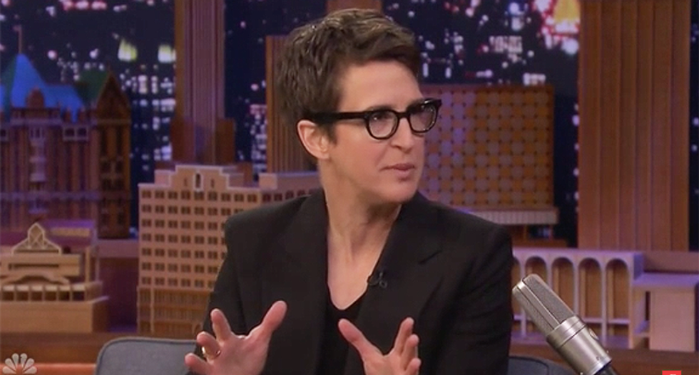 'It takes a small mind to want to out a whistleblower': Rachel Maddow blasts Trump and GOP