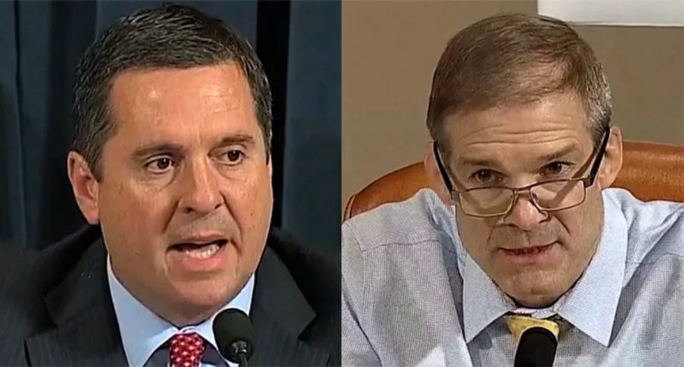 'Comically incompetent' Jim Jordan and Devin Nunes crashed and burned after just one impeachment hearing: Rick Wilson