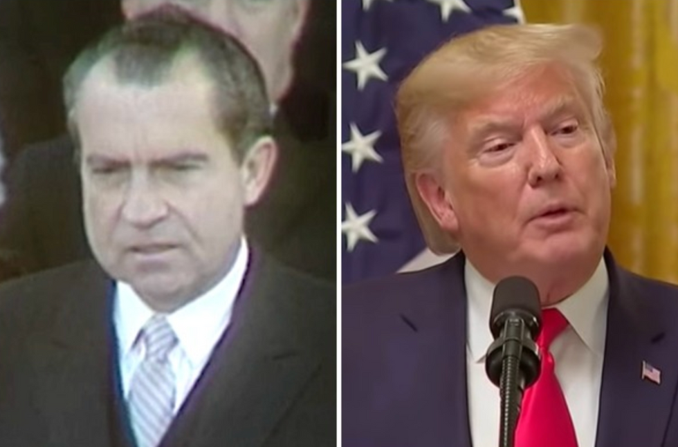 Even Nixon couldn't get away with what Trump is doing: history professor