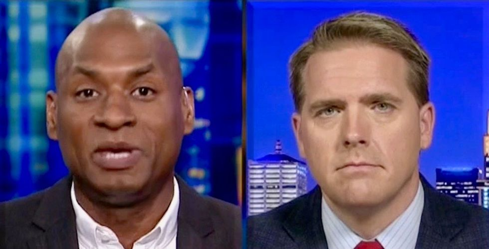 'We wouldn't have a country if it wasn't flooded with criminals': Watch Charles Blow destroy Republican with American history lesson