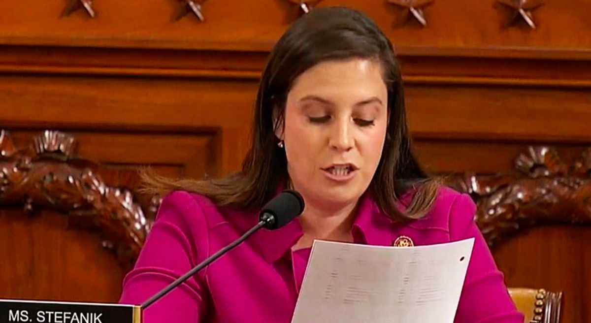 Stefanik may be McCarthy's top choice to replace Cheney-- but far-right conservative Republicans are skeptical