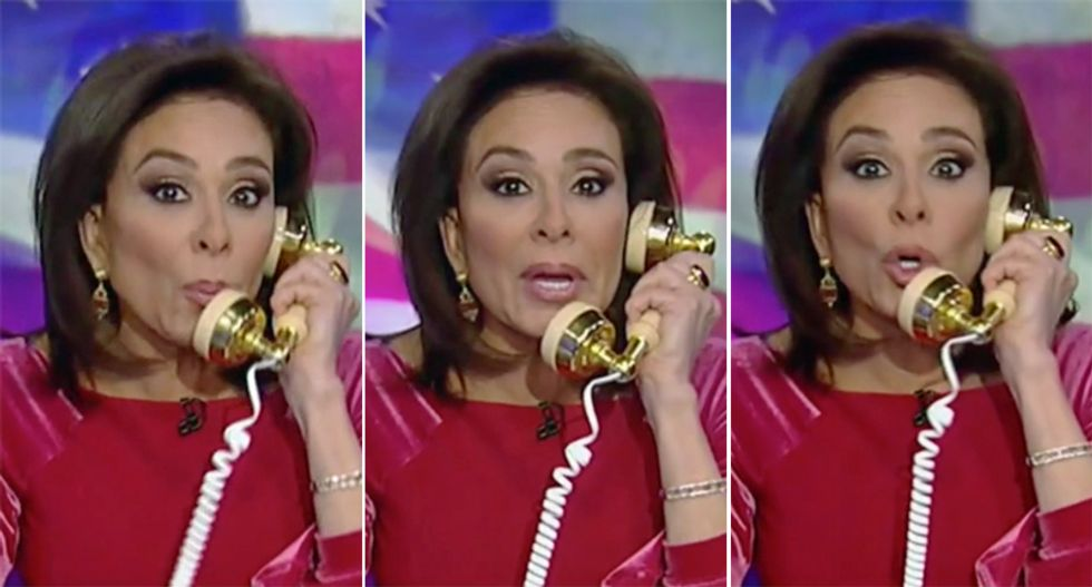Jeanine Pirro pushes conspiracy theory 2016 election interference 'apparently' started in Ukraine