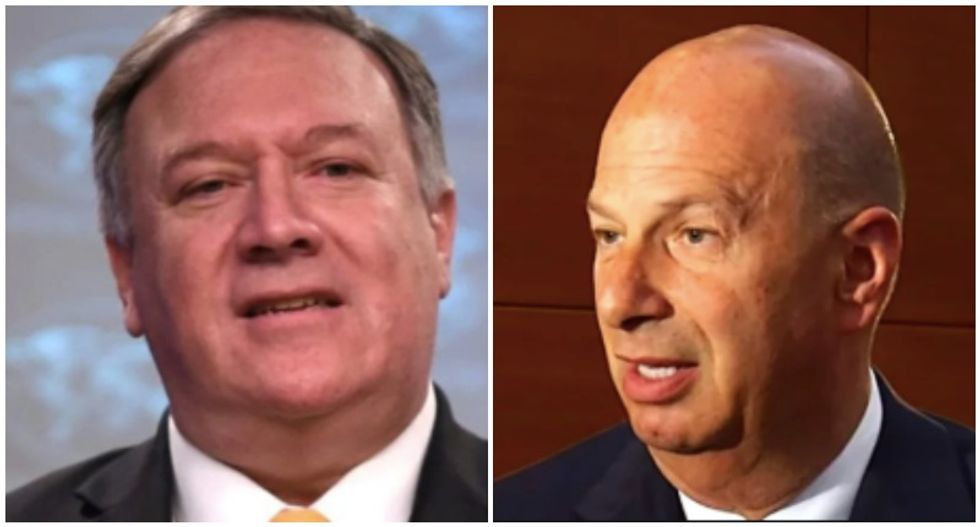 Sondland briefed Pompeo on Trump's Ukraine scheme -- and secretary of state signed off on it: report