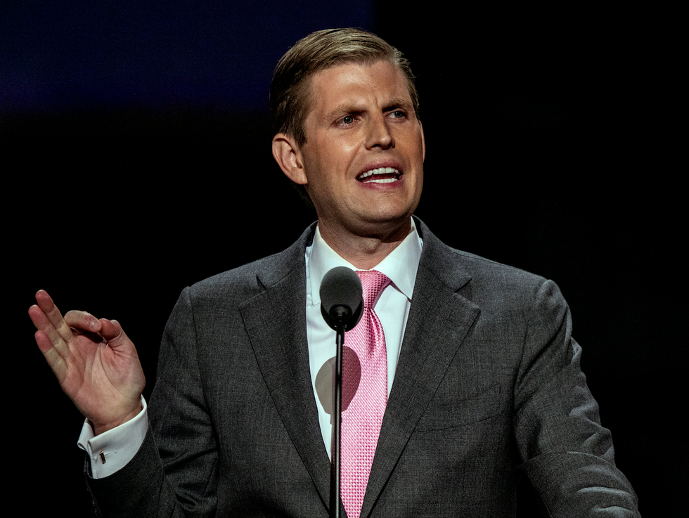 'Don't choke on the Kool-Aid of Trump's presidency': Eric Trump mocked for using impeachment hearings to hawk Trump Winery