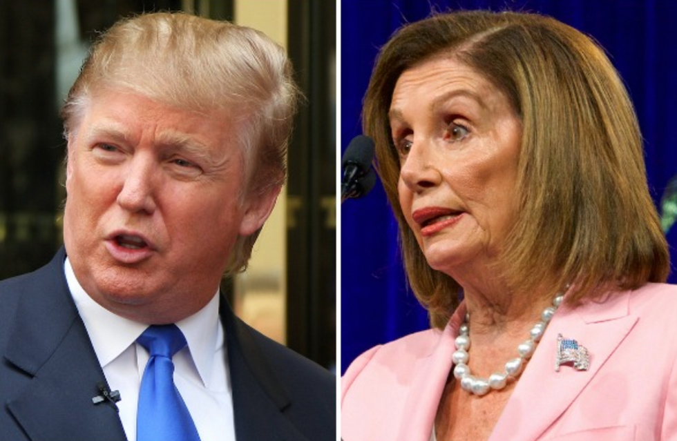 'Losing his grip on reality': Trump mocked for attacking Pelosi over a quote that actually came from Fox News
