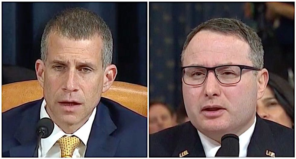 'I'm an American': Lt Col Vindman laughs off GOP counsel's attempts to question his loyalty