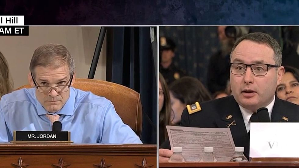 Jim Jordan's attacks on Lt. Col. Alexander Vindman at impeachment hearing badly backfire