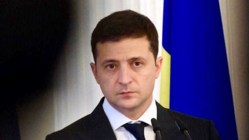 President Volodymyr Zelensky says Ukraine getting 'tired' of Trump scandal
