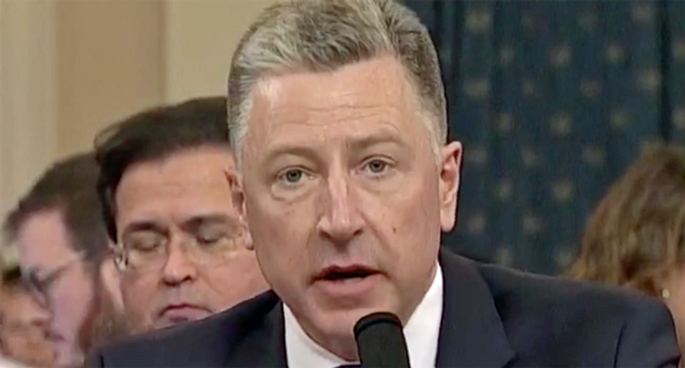 GOP's impeachment witness Kurt Volker tosses Giuliani under the bus – and makes a damning update to his testimony
