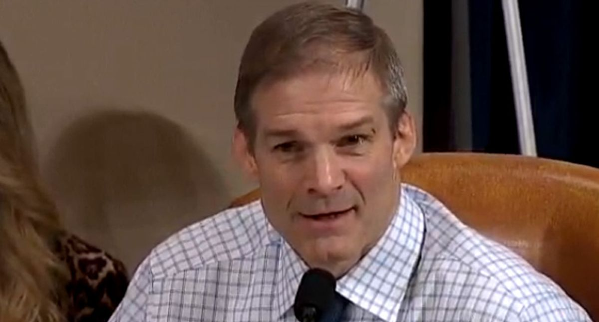'Please be less stupid': GOP's Jim Jordan shredded for ranting about masks