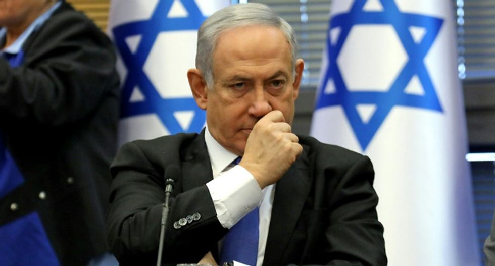 Benjamin Netanyahu claims corruption indictment 'is an attempt to stage a coup'
